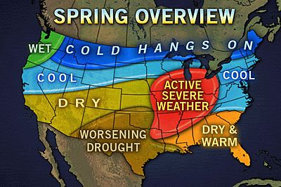 Updated Spring Severe Weather Forecast from AccuWeather.com